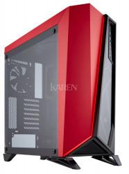 Corsair Carbide Omega czerwono-czarna