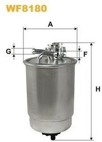 FILTRON Filtr paliwa WF8187