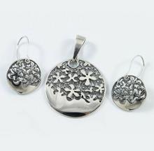 NA Komplet srebrny wisiorek + kolczyki W29/0 K20/0 (W29/0 K20/0) 106.00