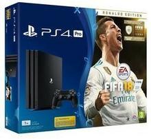 Sony PlayStation 4 Pro 1TB Czarny + FIFA 18 Ronaldo Edition