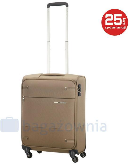 349b88d97940c Samsonite Mała walizka kabinowa BASE BOOST 79200 Brązowa - brązowy - Ceny i  opinie na Skapiec.pl