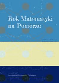 Wydawnictwo Uniwersytetu Gdańskiego Rok Matematyki na Pomorzu - Wiesław Laskowski