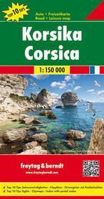 Korsyka. Mapa 1:150 000