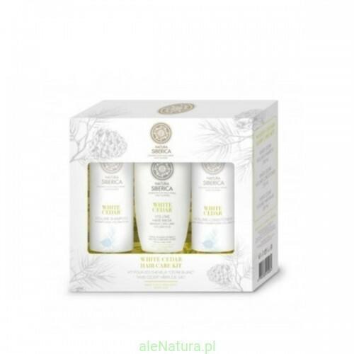 Natura Siberica zestaw kosmetyków do włosów- zwiększenie objętości - szampon do włosów + balsam do włosów + maska do włosów NS87