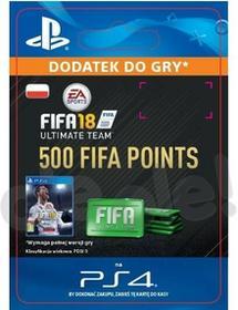 FIFA 18 500 Punktów PS4 wersja cyfrowa