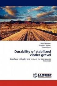 LAP Lambert Academic Publishing Durability of stabilized cinder gravel