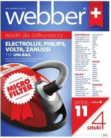 610cb615cec072 -27% Philips Worki do odkurzacza WEBBER Uni Bag do Electrolux syntetyczne  4szt.