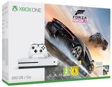 Microsoft Microsoft Konsola XBOX ONE S 500GB + Forza Horizon 3 + 6M Live Gold + Konwerter HAMA Speedshot Ultimate mysz/klawiatura