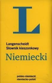 Słownik kieszonkowy Niemiecki Langenscheidt - Langenscheidt