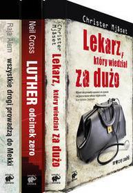 Smak słowa Christer Mjaset, Raja Alem, Neil Cross Pakiet: Lekarz, który wiedział za dużo / Wszystkie drogi prowadzą do Mekki / Luther, odcinek zero