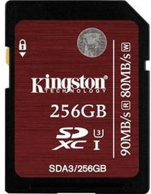 Kingston SDXC UHS-I Speed Class 3 256GB