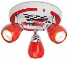 Brilliant Racing - lampa sufitowa do pokoju dziecięcego