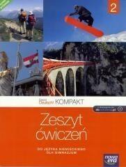 Nowa Era Język niemiecki Das ist Deutsch! Kompakt 2 ćwiczenia GIMN / podręcznik dotacyjny  - Jolanta Kamińska