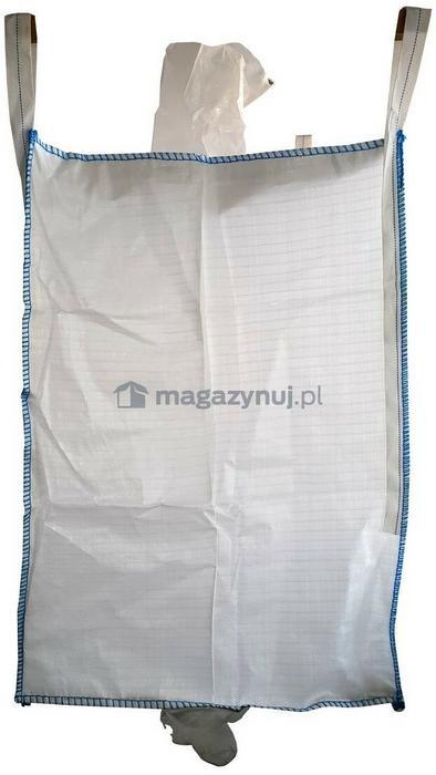 Worek BIG BAG 5. 4 uchwyty, wym. 900x900x1200mm (Ładowność 500 kg)