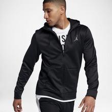 Nike Męska rozpinana bluza z kapturem Jordan Therma 23 Alpha - Czerń 872875-010