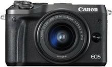 Canon EOS M6 +15-45 IS STM czarny