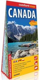 ExpressMap Kanada Canada) comfort! map laminowana mapa samochodowo turystyczna