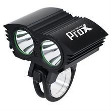 PROX Lampka Dual Power I czarny XM-L2 T6