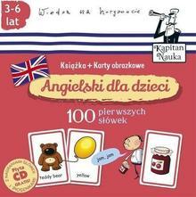Karty obrazkowe dla dzieci. 100 pierwszych słówek + CD