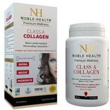 Noble Health Sp. z o.o. Noble Health Sp z o.o NOBLE HEALTH Class A Collagen piękna skóra włosy i paznokcie 90 + 30 tabletek 0000000