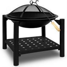 wideShop Palenisko kominek grill ze stali nierdzewnej 55 cm