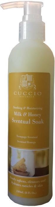 Cuccio Cuccio Milk & Honey Scentual Soak | Żel zmiękczający do dłoni i stóp 240ml
