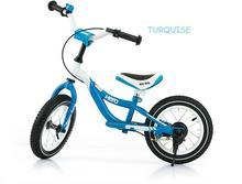 Milly Mally Rowerek biegowy HERO pompowane koła niebieski