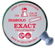 JSB / CZECHY śrut 5,52 mm JSB EXACT JUMBO 250 szt. (EXA5,52) EXA5,52