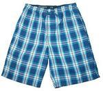 Hanes hanes Mężczyźni pidżama spodnie. w kratkę One Size -  s P-2002-BLU404-S