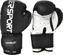 Axer Sport Rękawice bokserskie AXER SPORT A1341 Czarno-Biały (8 oz)