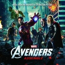 Avengers Assemble Music From & Inspired By The Movie OST) CD) Universal Music Group