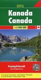 Freytag&berndt Kanada Mapa 1:3 000 000 - Freytag & Berndt