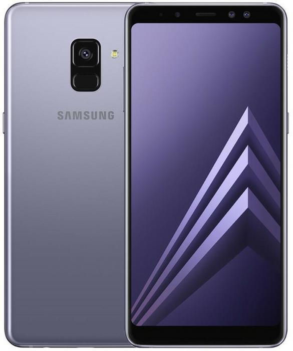 Samsung Galaxy A8 2018 Dual Sim Szary