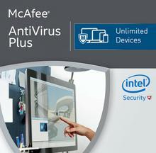 McAfee Antivirus Plus 2018 Unlimited
