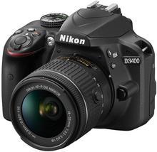 Nikon D3400 + AF-P 18-55 VR czarny