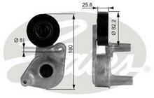GATES Rolka napinacza, pasek klinowy wielorowkowy T38149