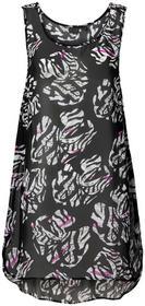 Bonprix Sukienka plażowa czarno-biały