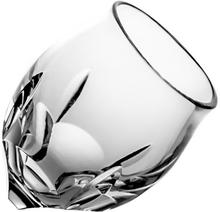 Crystaljulia Kieliszki do wódki kulawka kryształowe 6 sztuk 06898) 06898