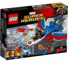 LEGO Marvel Super Heroes Odrzutowiec Kapitana Ameryki 76076