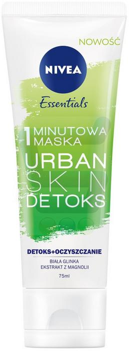 Nivea Essentials Urban Skin Detoks Maska do twarzy 75 ml