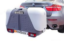 Towbox V2 bagaż - box na hak srebrny 3001