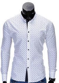 Koszula K314 - BIAŁA