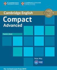 Compact Advanced Teacher's Book - Peter May