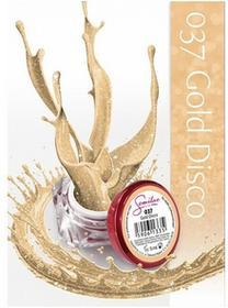 Semilac UV Gel Color 037 Gold Disco 5ml Żel UV do paznokci 5902533440306