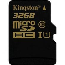 Kingston MicroSDHC Class 10 UHS-I + adapter 32GB