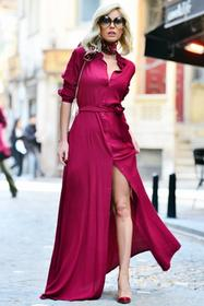 Sukienka MARCI BORDO 005003-48