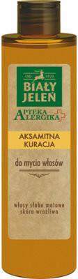 Pollena Apteka Alergika, aksamitna kuracja hipoalergiczna do mycia włosów, 250 ml
