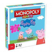 Hasbro Monopoly Junior Świnka Peppa