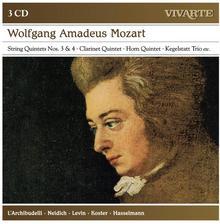 Mozart A Musical Joke Clarinet Quintet Horn Quintet Kegelstatt Trio String Quintets Nos 3 & 4 etc