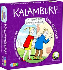 MDR Kalambury. Gra towarzyska ilustrowana rysunkami Andrzeja Mleczki